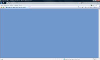 Screenshot: Ansicht im IE