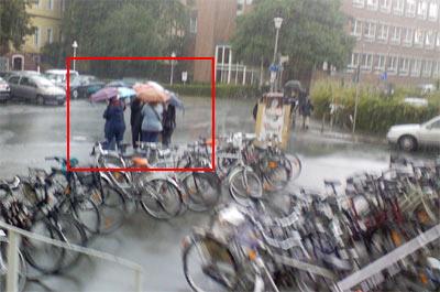 Regenschirme in Münster / Westfalen